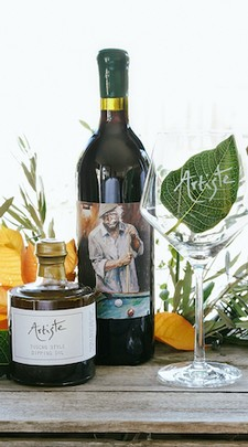 Tuscan Wine & Oil Gift Set