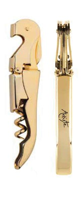 The Artiste Golden Corkscrew