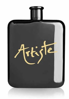 The Artiste Black Flask Image