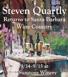Steven Quartly Private Art & Wine Release Party