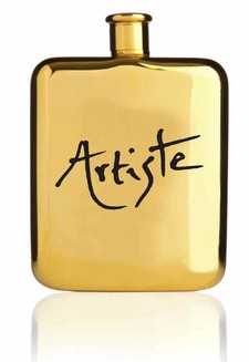 The Artiste Golden Flask